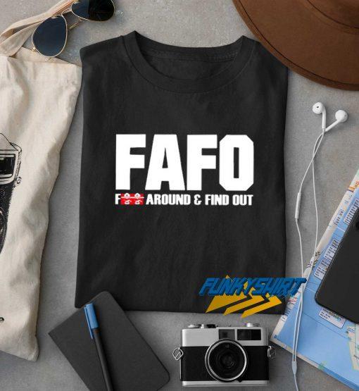 FAFO Fuck Around t shirt