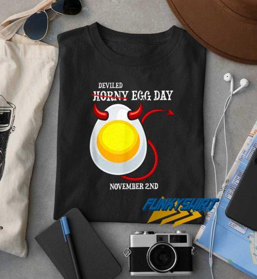 Horny Deviled Egg Day t shirt