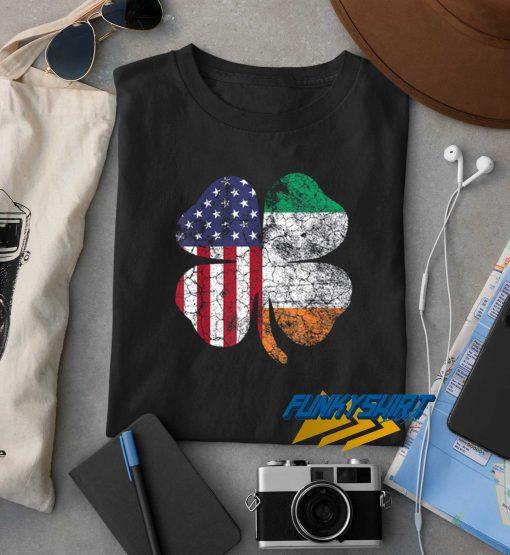 Irish American Flag t shirt