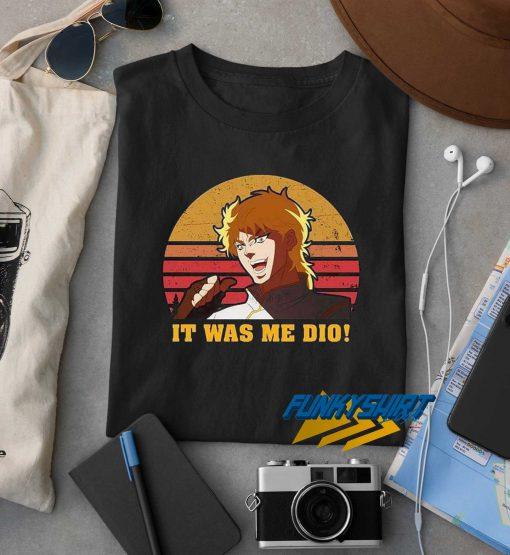 It Was Me Dio Retro t shirt
