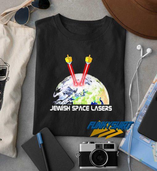 Jewish Space Lasers Art t shirt