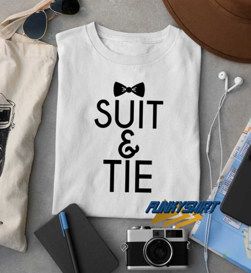 Justin Timberlake Suit n Tie t shirt