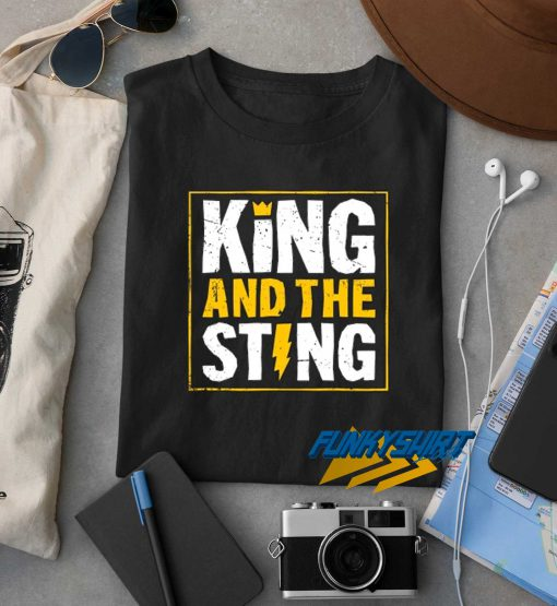 King And The Sting t shirt