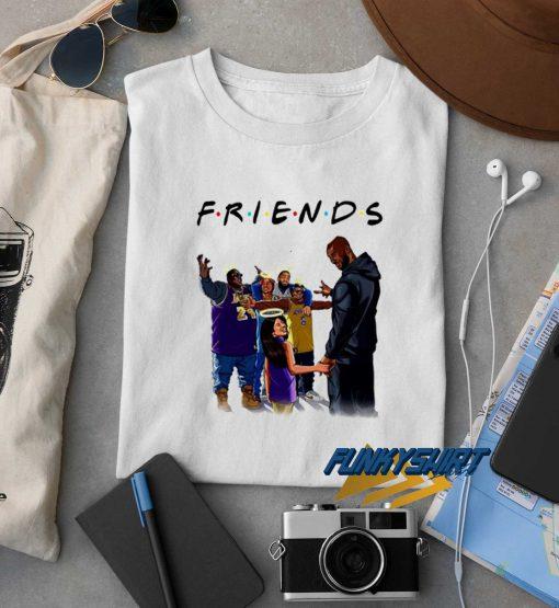 Kobe Bryant Friends t shirt
