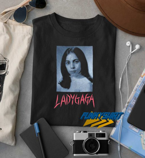 Lady Gaga School Photo t shirt