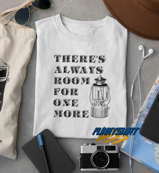 Lantern Theres Always Room t shirt