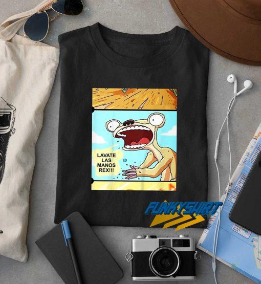 Lavate Las Manos Rex Camiseta t shirt