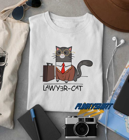 Lawyer Cat Graphic t shirt