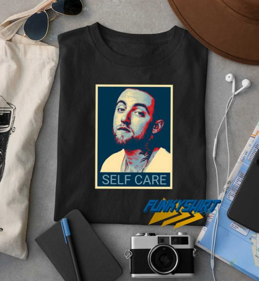 Mac Miller Self Care Face t shirt