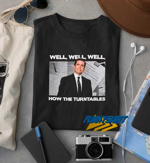 Michael Scott How The Turntables t shirt