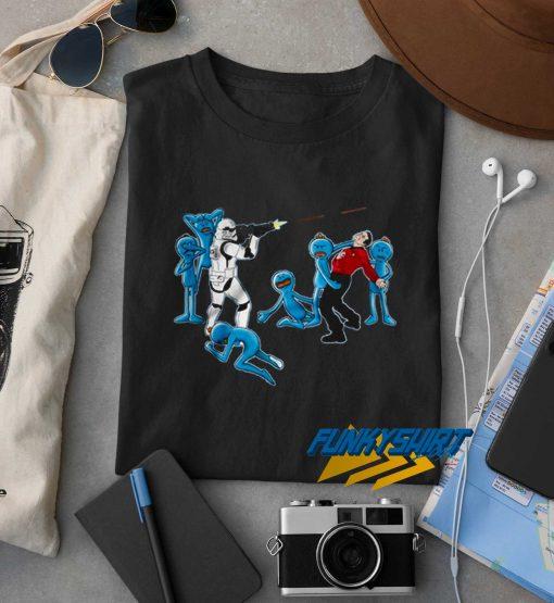 Mr Meeseeks And Stormtrooper t shirt