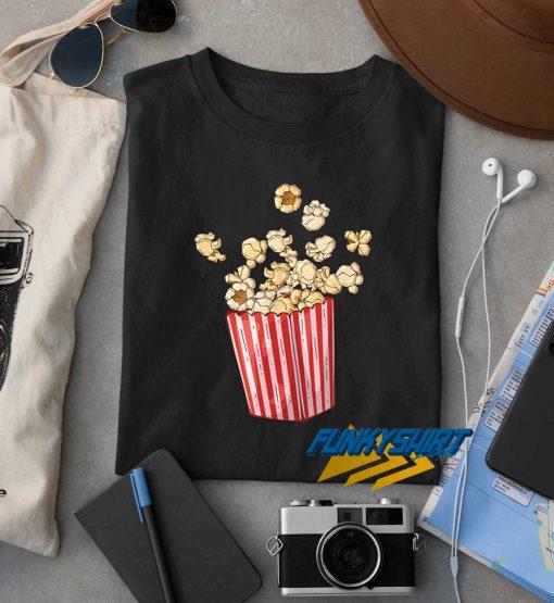 Retro Vintage Popcorn Graphic t shirt