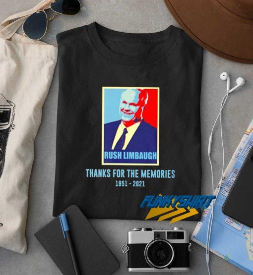 Rush Limbaugh Memories t shirt