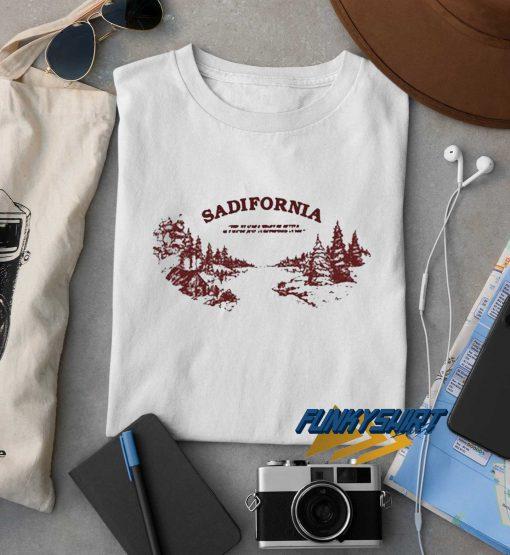 Sadifornia Logo t shirt