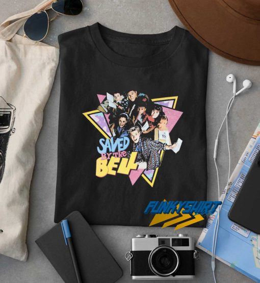 Saved By The Bell Triangle t shirt