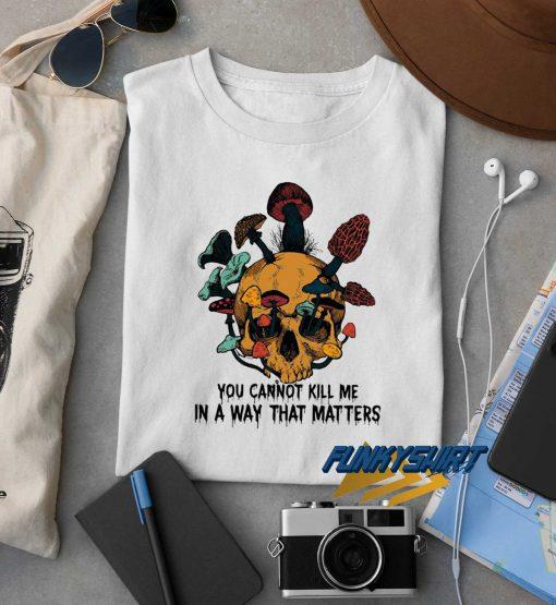 Skull Mushroom t shirt