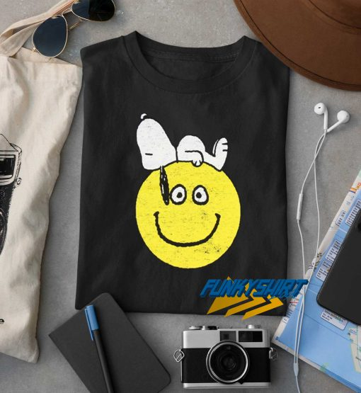 Snoopy With Smiley t shirt