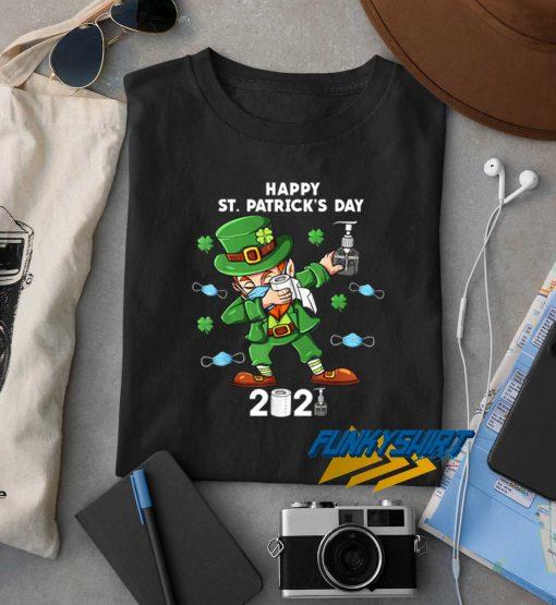 St Patricks Day Dabbing 2021 t shirt