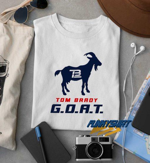 Tom Brady Goat t shirt