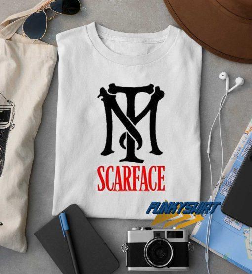 Tony Montana Scarface Logo t shirt