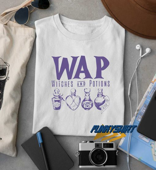 Wap Witches And Potions Logo t shirt