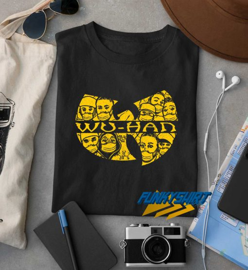 Wuhan Clan Characters t shirt