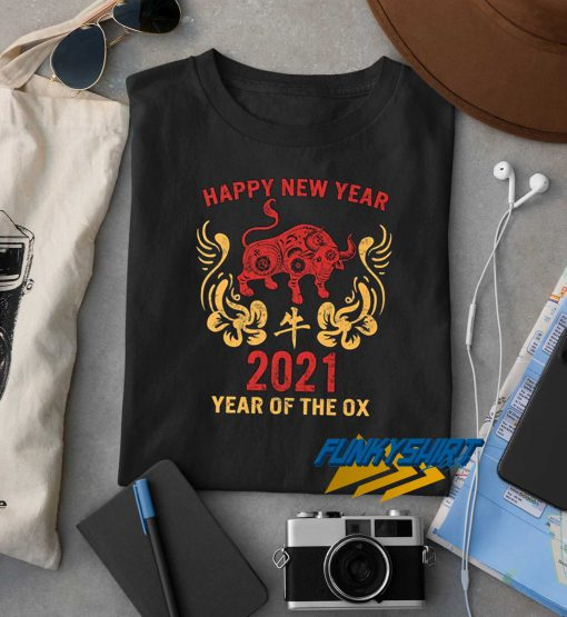 Year Of The Ox 2021 t shirt