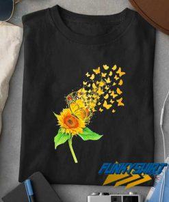 Butterflies Sunflower Parody t shirt