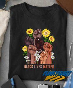 Sunflower Peace BLM t shirt