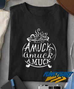Amuck Witch Art t shirt