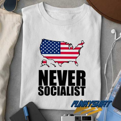 Anti Socialist Usa Flag 2021 t shirt