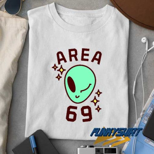 Area 69 Alien t shirt