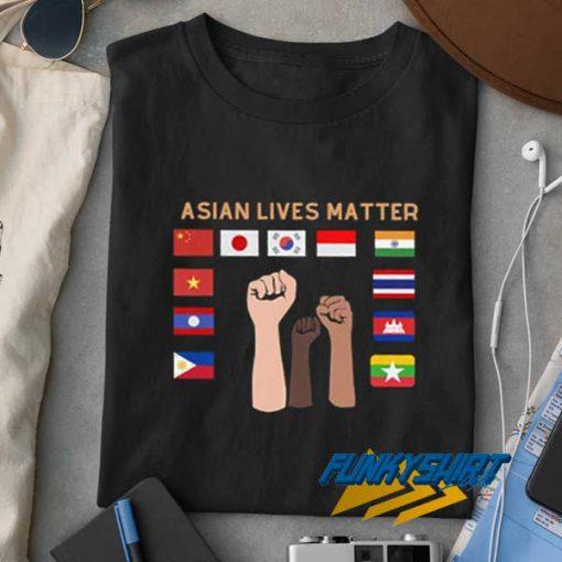 Asian Lives Matter Flag t shirt