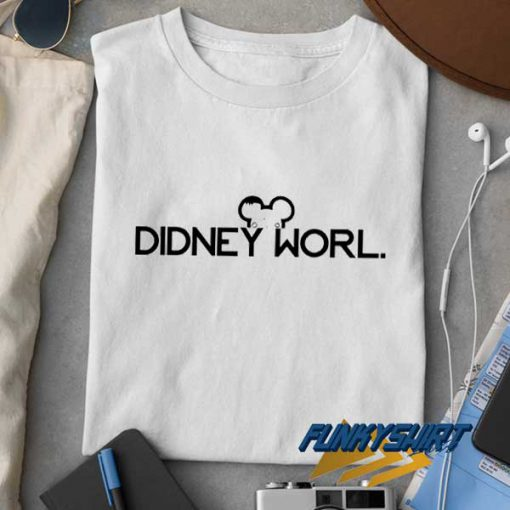Didney Worl Logo t shirt