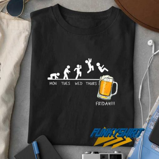 Friday Beer Drinking t shirt