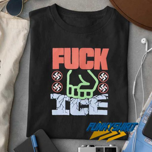 Fuck ICE Graphic t shirt