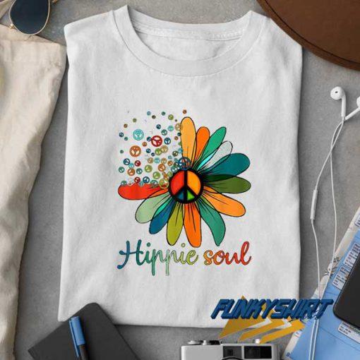 Hippie Soul Flower Lovers t shirt