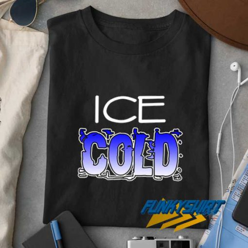 Ice Cold Art Lettering t shirt