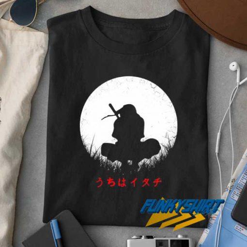 Itachi Uchiha And Moon t shirt