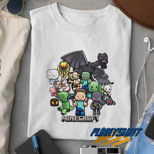 Minecraft Party t shirt