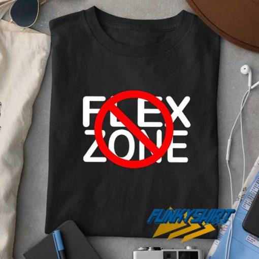 No Flex Zone Logo t shirt