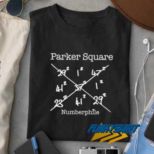 Parker Square Numberphile t shirt