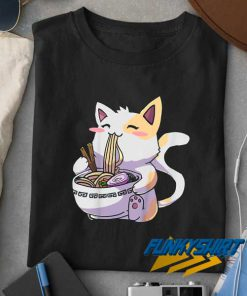 Ramen Cat Kawaii t shirt