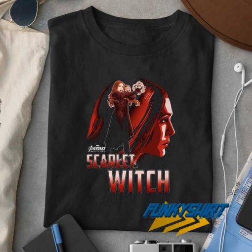 Scarlet Witch Avengers Graphic t shirt