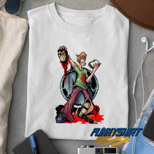 Shaggy Vs Mortal Kombat Draw t shirt