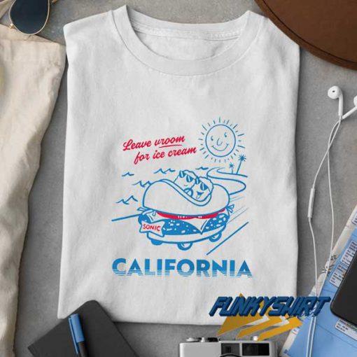 Sonic Ice Cream California t shirt