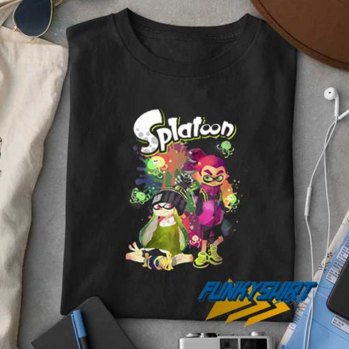 Splatoon Splatter Poster t shirt