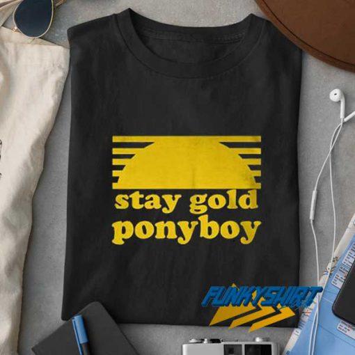 Stay Gold Ponyboy Retro t shirt
