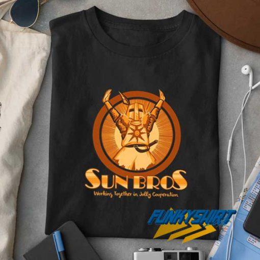 Sun Bros Logo t shirt