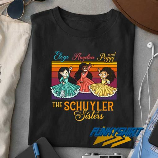 The Schuyler Sisters t shirt